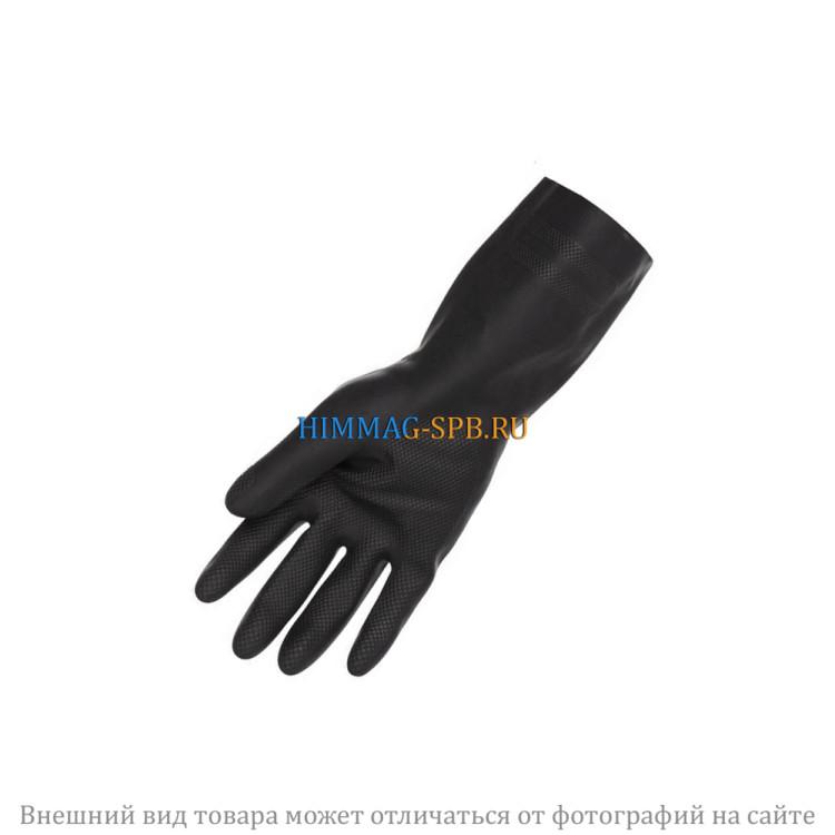 Перчатки черные неопреновые