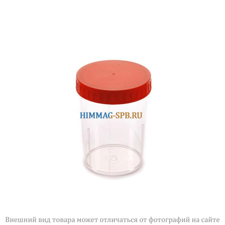 Контейнер для биологического материала с завинчивающейся крышкой