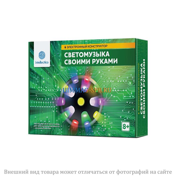 """""""Светомузыка своими руками"""" электронный конструктор"""