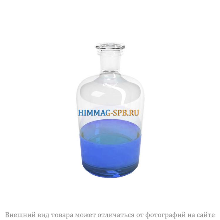 Склянка для реактивов с притертой пробкой с узкой горловиной