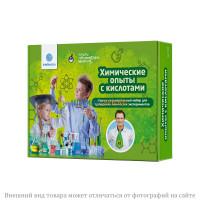 """""""Химические опыты с кислотами"""" набор для опытов"""